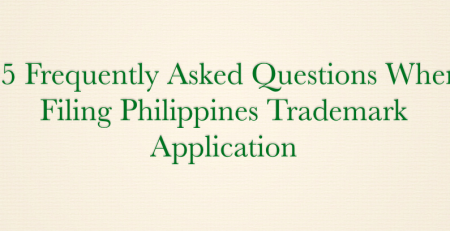 Questions When Filing Philippines Trademark Application