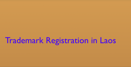 Trademark Registration In Laos