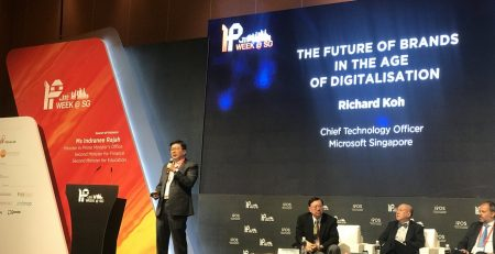 IP week in Singapore, Future of brands in the age of digitalisation by Microsoft Singapore