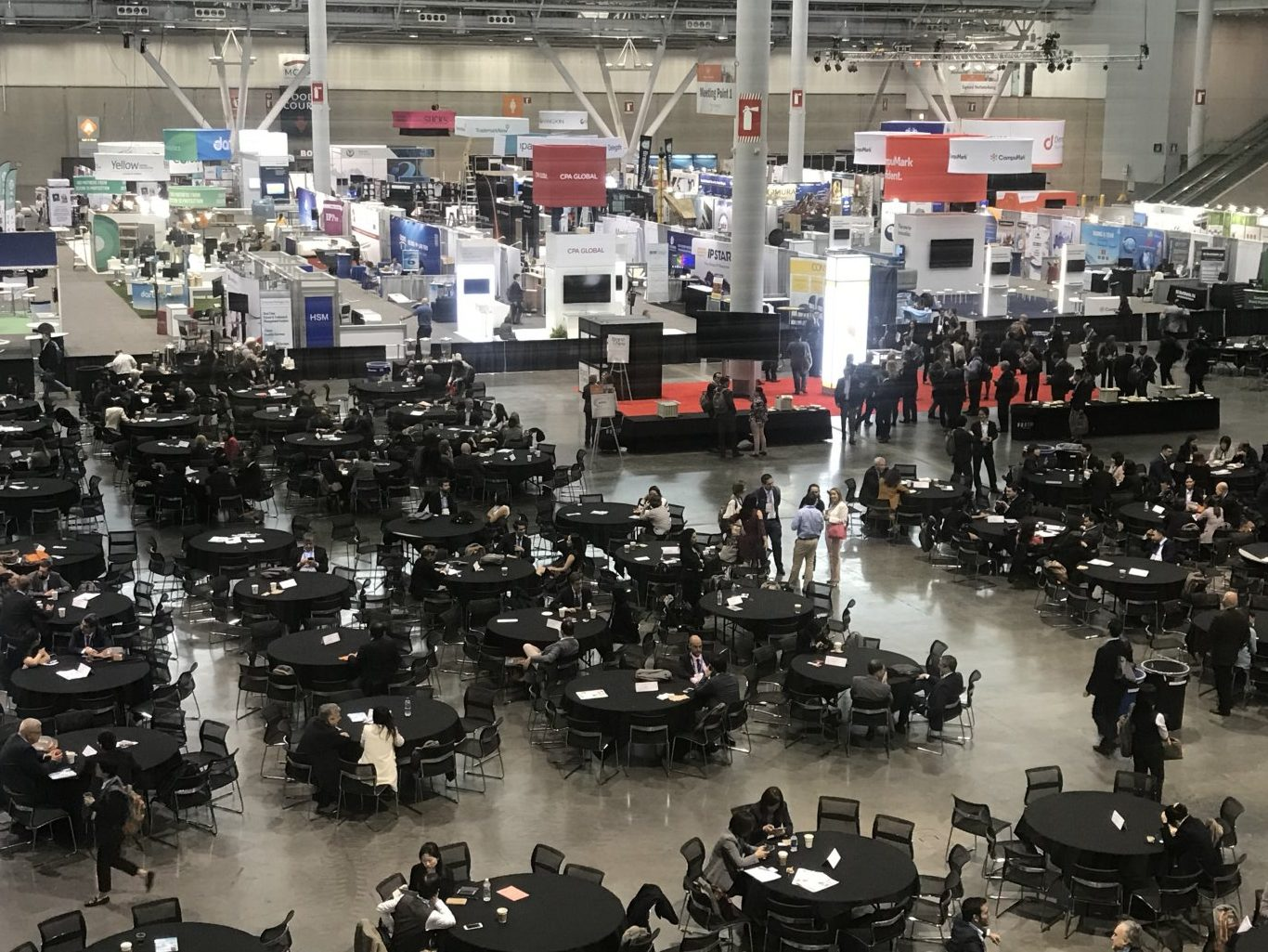 Overview Of Hospitality area in INTA Boston 2019