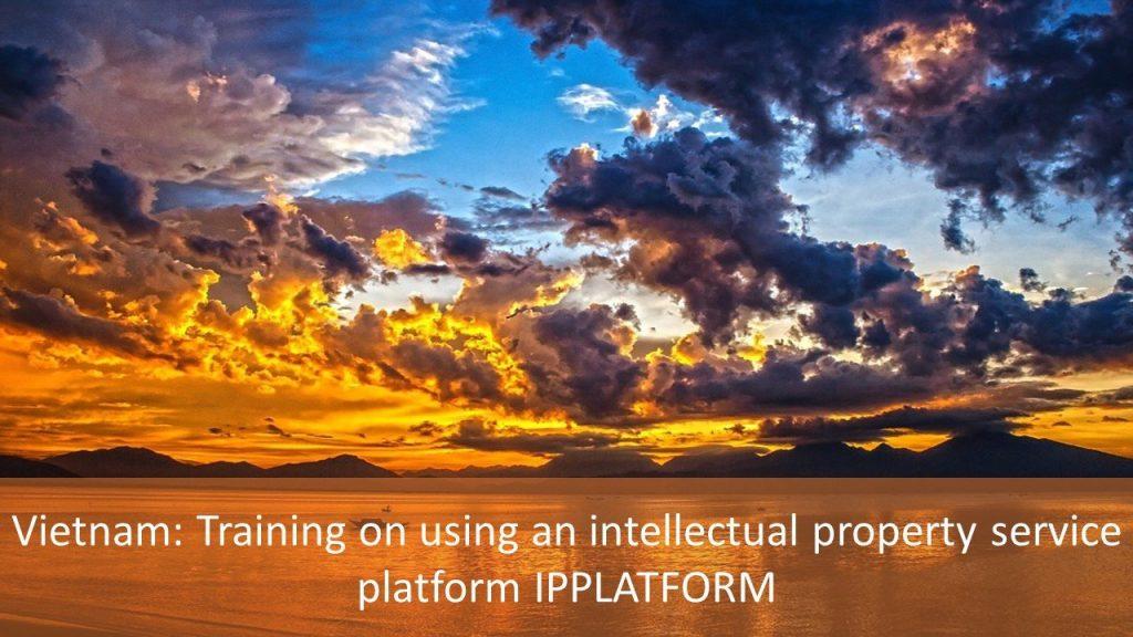 Vietnam: Training on using an intellectual property service platform IPPLATFORM